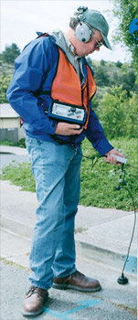 LD-12 Sonic Subsurface Water Leak Detector