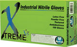 Disposable Ammex Xtreme X3 Nitrile 3mil Powder Free Industrial Gloves
